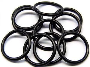 4mm Bereich 165mm Bohrung Nitril 70 Gummi O-Ringe