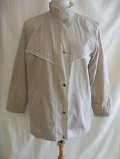 Ladies Anorak - St. Michael, size 12/40, beige, polycotton, lightweight - 7907