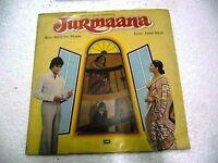 JURMAANA R.D.BURMAN 1978 pop funk lounge RARE LP RECORD OST orig BOLLYWOOD VG+