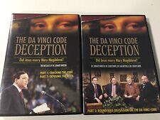 The Da Vinci Code Deception 2 Dvd Set Parts 1-3 Edward Hindson Tested Working