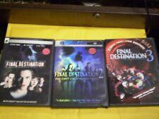 (3) Final Destination DVD Lot: Final Destination 1, 2 & 3     Halloween Horror