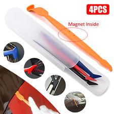 4PCS Car Wrap Sticker Scraper Kit Vinyl Wrapping Carbon Fiber Install Auto Tools