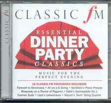 ESSENTIAL DINNER PARTY CLASSICS: CLASSIC FM CD - GERSHWIN SCHUMANN OFFENBACH ETC