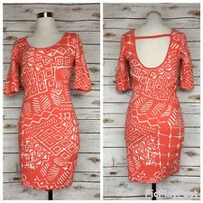 Torn By Ronny Kobo Womens Size M Casey Coral Tribal Print Knit Dress