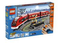LEGO CITY TRENO PASSEGGERI RADIOCOMANDATO  RARO NUOVO FUORI PRODUZIONE  ART 7938