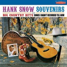 Snow Hank - Souvenirs/big Country Hits NEW CD