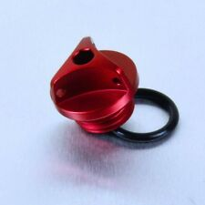Pro-Bolt Aluminium Oil Filler Cap M20 x (2.50mm) - Red Honda NSR125R 94-03