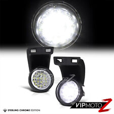 94-01 DOdge Ram 1500/2500/3500 Truck White LED Fog Light Driving Lamp Left+Right