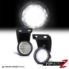 94-01 DOdge Ram 1500/2500/3500 Truck White LED Fog Light Driving Lamp Left+Right