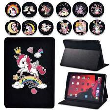 For Apple iPad / iPad Mini/iPad Air/iPad Pro -Unicorn Leather tablet Cover Case