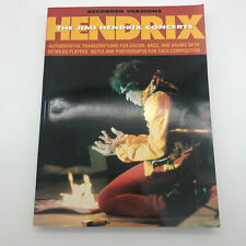 The Jimi Hendrix Concerts Song Book Sheet Music Guitar Bass Drums