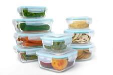 Glass Food Containers 18pc Set with Lids