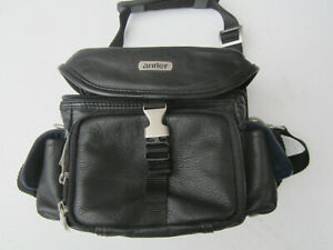 Antler Leather Compact Camera Bag. Padded. Good Condition. Inc Strap.