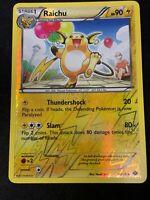 Pokemon TCG Raichu 40/99 Reverse Holo Uncommon Next Destinies NM