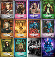 12 Guardians of the Galaxy Vol. 2 2017 Mirror Surface Postcard Promo Card  A01