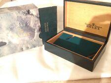 ROLEX 16014  'Crater'  box and passport wallet 1985
