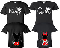 King And Queen Shirts - Couple Shirts - His And Hers Shirts Couple Matching Tee