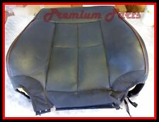 LINCOLN NAVIGATOR RIGHT PASSENGER SIDE FRONT SEAT BACK COVER BLACK LEATHER