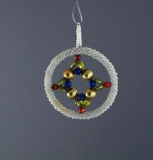 Alter Christbaumschmuck - Gablonzer Jugendstil Ornament um 1920  (# 7335)