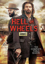 HELL ON WHEELS -Complete 3rd Third Season (2014 DVD --3 Disc Set) NEW  / SEALED
