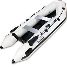 Schlauchboot 330 MKII Weiss Ruderboot Paddelboot Gummiboot Angel Sportboot Motor