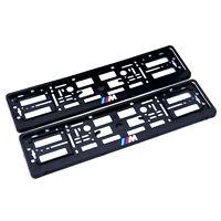 2x Kennzeichenhalter Nummernschildhalter für BMW M Performance //M
