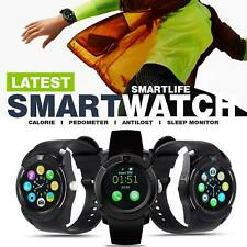New Bluetooth Smart Watch with Touch Screen Camera Mic Text Call Smartwatch
