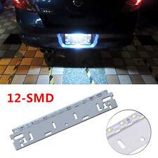 12V 12SMD Super Bright Car Reverse Backup Number License Plate Tail Brake Light