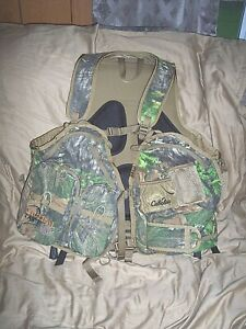 Camo Turkey Vest  Converts 2 Chair Hunting Vest Game Bag Hiking Camo Backpack