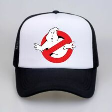 GHOSTBUSTERS HAT Halloween Costume Mesh Trucker Cap Adjustable Funny 80s Group
