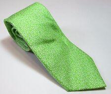 NAUTICA NEW Mens 100% Silk Necktie Anchors Green