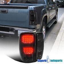 2007-2014 GMC Sierra 1500 2500 3500 LED Tail Lamps Brake Lights Smoke