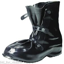Army NBC Festival Mud Black Rubber Over Shoe Welly Boots Wellies Large UK 9 & 10