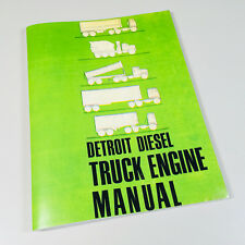 DETROIT 53 SERIES DIESEL ENGINES OPERATORS MANUAL IN LINE 3-53 4-53 6V-53 8V-53