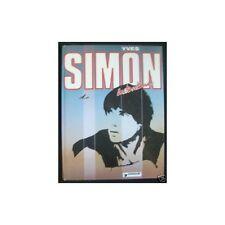 YVES SIMON Paroles des Chansons illustré de Dessins et Photos Édit. Dargaud 1982