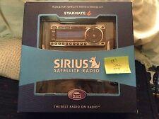 EUC in box starmate ST4 receiver call + Sirius satellite radio CAR kit XM read