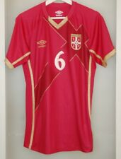 Match worn shirt Serbia national team VS Russia Ivanovic Chelsea England Zenit