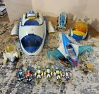 Disney Miles From Tomorrowland - Space Ship, Photon Flyer, Rover, Jetter, Figs+