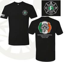 Savannah Fire Local 574 2019 St. Patrick's Day Shirt Black