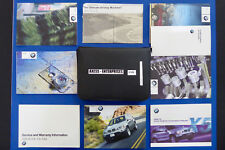 2002 BMW E53 X5 3.0i 4.4i 4.6is Owner Manuals Operator Books Navi Guide Set S149
