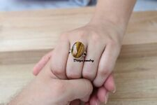 Tiger's Eye Ring Solid 925 Sterling Silver Ring Handmade Ring Sweet Ring XX10