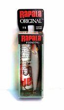 "Vintage (Ireland) Rapala 2-3/4"" Silver Floating Fishing Lure #7 S"
