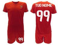 Completo Arsenal Personalizzato 2020 Ufficiale maglia pantaloncini Gunners
