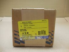 1 NIB SQUARE D SER G 9001KYSS3 9001-KYSS3 30MM CONTROL STATION 3 HOLE STAINLESS
