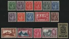 St. Lucia 1938 - Mi-Nr. 99-115 ** - MNH - King George VI