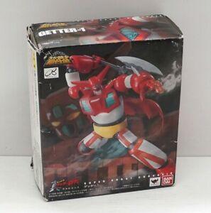 Super Robot Chogokin GETTER-1 Getter 1. Action Figure Die-cast. Bandai