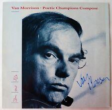 "Van Morrison ""Poetic champions compose"" Hand Signed LP"