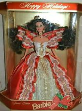 1997 Special Edition Brunette HAPPY HOLIDAYS Barbie