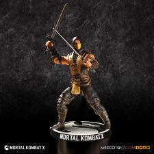Mortal Kombat X Action Figure Scorpion 10 cm Mezco Toys Figures