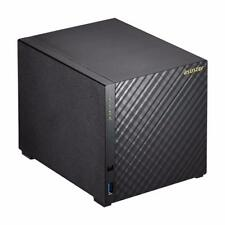 ASUSTOR AS1004T 4-Bay Personal Cloud NAS Server Marvell Dual-Core CPU 512MB RAM